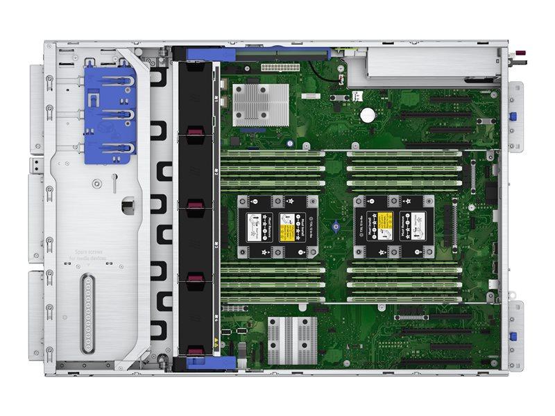 HPE ProLiant ML350 Gen10 Base - tower - Xeon Silver 4210 2.2 GHz - 16 GB - no HDD